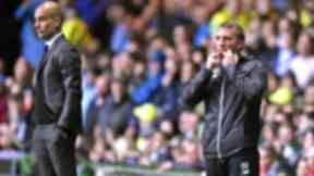 Brendan Rodgers' side drew 3-3 with Man City.