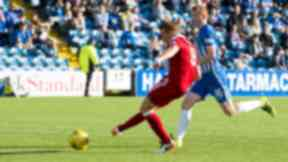 Double: Adam Rooney scored twice.