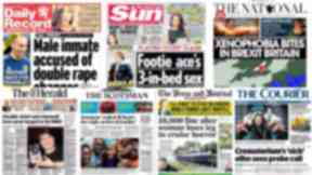 Scotpapers Friday October 28 2016