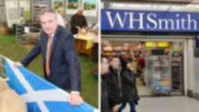 Imports: Former minister Richard Lochhead wants WH Smith to stock more local brands.