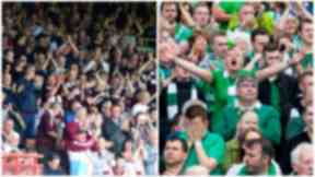 Hearts and Hibs fans queue for Scottish Cup tickets