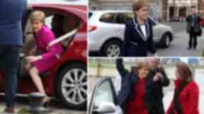 Nicola Sturgeon cars