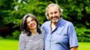Helen Bailey with fiance Ian Stewart