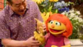 Julia will make her Sesame Street debut on April 10.