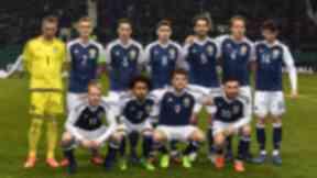Scotland team v Canada