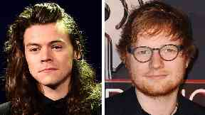 Harry Styles number one: 1D singer enjoys solo success to end Ed Sheeran's record bid