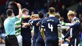 Scott Brown red card 16/4/17