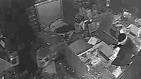 ATM raid by gang, issued by Police Scotland