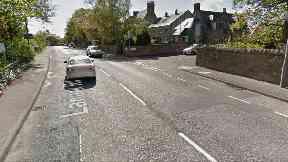 Lanark Road, Edinburgh. 74yo woman ran over by HGV April 24 2017
