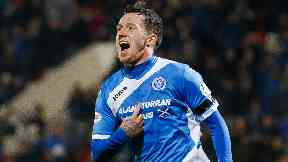Deal: Danny Swanson is on the move to Hibernian