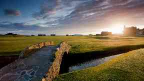 St Andrews Old Course 18th hole Tom Morris generic quality