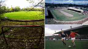 Third Lanark Cathkin Park ground in 1967 and 2017 club's demise uploaded Thursday April 27