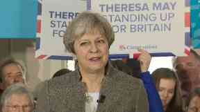 Theresa May urges Scottish voters to 'strengthen the union' with vote for Tories