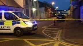 Attack: A man was knifed during an argument.