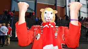 Aberdeen FC, Sheep are on Fire