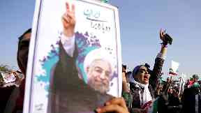 Iran elections: Hassan Rouhani wins second term as president