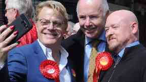 Comedian Eddie Izzard hoping to become Labour politician