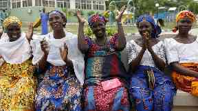 Chibok schoolgirls reunited with families
