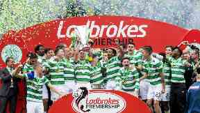 Celtic's title-winning celebrations 2016/17