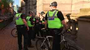 Man arrested at Birmingham vigil.