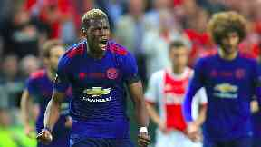 Europa League final match report: Ajax 0-2 Man United