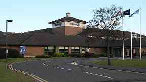DoubleTree by Hilton Hotel on Eastfield Road near Edinburgh Airport