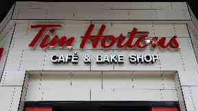 Tim Hortons Argyle Street Glasgow first UK canadian cafe chain uploaded Thursday June 1 2017