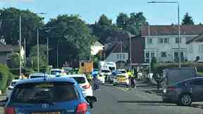 serious incident penilee road paisley uploaded with Twitter permission Friday June 2 2017