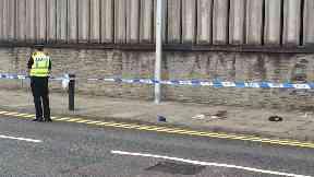 West North Street in Aberdeen, body of 41-year-old man found.