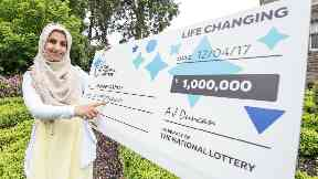 mother mum-of-three from Dundee Shaheen Akhtar Lotto Raffle uploaded Tuesday June 6 2017