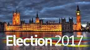 Election 2017 #GE2017 branding