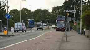 elderly woman died after a bus driver was forced to stop suddenly in Edinburgh.