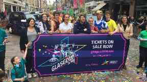 Glasgow 2018 European Championships ticket launch