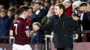 Jamie Walker, Ian Cathro, Hearts December 2016