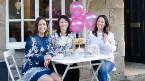 Sisters Geraldine, Jennifer and Michelle launch delivery service Sconebox