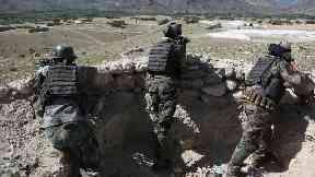 An Afghan commando opened fire inside a military base, the army said.