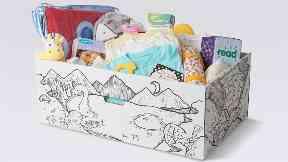 Baby box stock/generic image