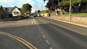 Ponderlaw Street in Arbroath where an elderly woman died in collision between mobility scooter and car