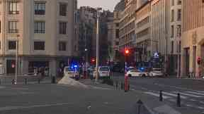 Brussels Central Station: Suspected attacker 'neutralised'