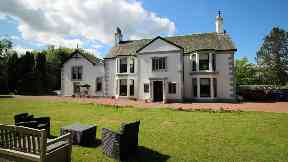 Dullatur House seven bedroom mansion swimming pool near Cumbernauld uploaded Wednesday June 21 2017