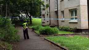 Cairnhill Drive: Police are treating the death as suspicious.