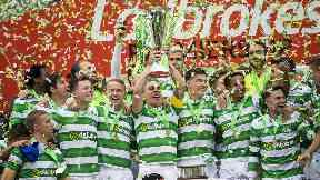 Celtic Premiership celebrations 2017