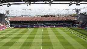 Tynecastle Stadium May 2017