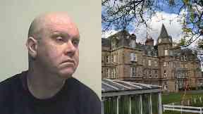 Composite of David Penman and Royal Blind School, Edinburgh.