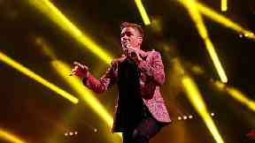 The Killers frontman Brandon Flowers had reportedly vowed never to return to Glastonbury.