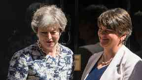 Theresa May and Arlene Foster June 26, 2017
