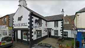 Black Bull pub in Lockerbie, 26yo man assaulted and knocked out.