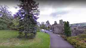 Balloch: The family were targeted while walking through the park.