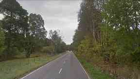 Crash: A mother and daughter have been injured in the collision. A93 Aboyne