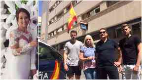 Kirsty Maxwell: Her family have returned to Benidorm for answers.